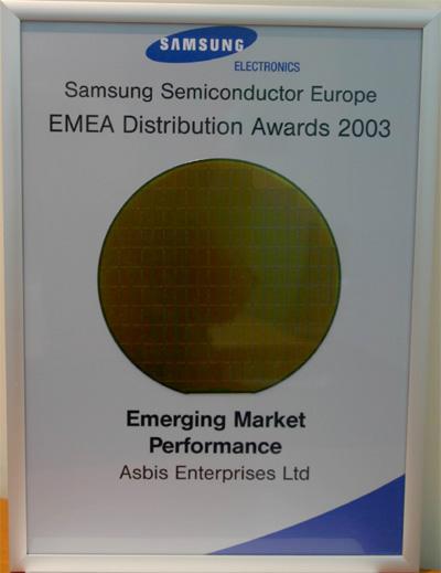 Fastest Growing Samsung Semiconductor Distributor in EMEA Region