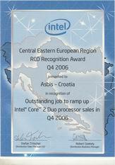 Intelova ngrada uredu ASBIS Hrvatske