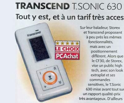 Transcend T.sonic Award