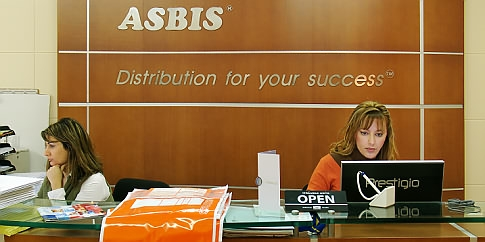 ASBIS Reception Desk