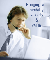Bringing you visibility, velocity & value